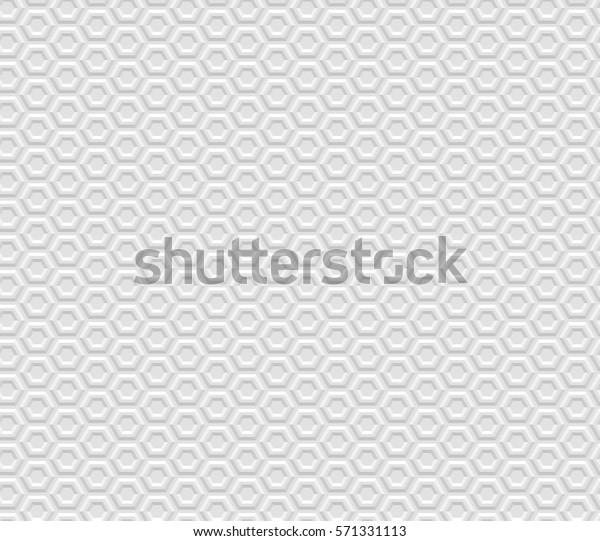Illustration Seamless Texture White Geometric Patterned Stock ...