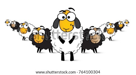 illustration-sheep-comic-white-wool-450w