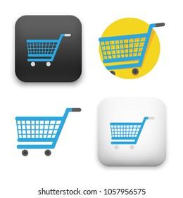 illustration of Shopping cart icon