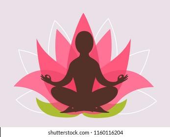 Meditation Clipart Images Stock Photos Vectors Shutterstock