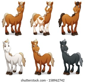 cartoon horse images stock photos vectors shutterstock rh shutterstock com cartoon horse images to draw cartoon horse pictures