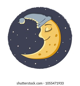 Cartoon Moon Images, Stock Photos & Vectors