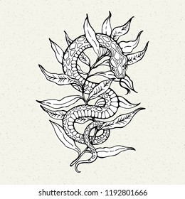 Snake Tattoo High Res Stock Images Shutterstock