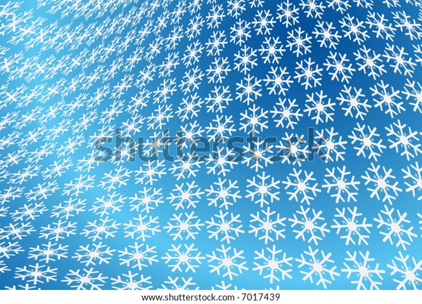 Illustration of snow flake