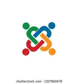illustration of socialite icon