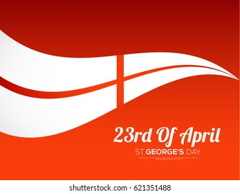 Illustration Of St.George's Day Background