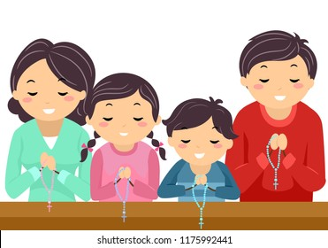 Families At Church Stock Illustrations Images Vectors Shutterstock