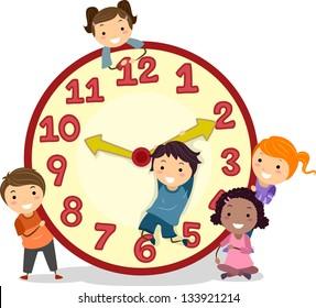 Royalty Free Cartoon Clock Stock Images Photos Vectors Shutterstock