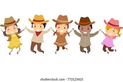 Image result for cowboy kids