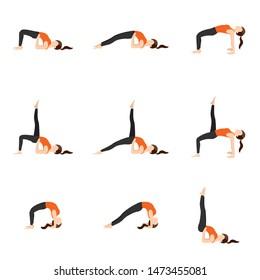 yoga headstand stock vectors images  vector art