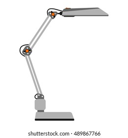 illustration of table lamp