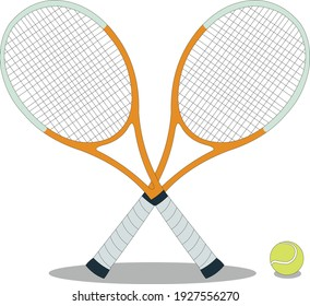 Illustration of Tennis Racket vector