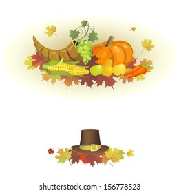 Illustration for the Thanksgiving holiday .
