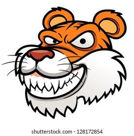 illustration of Tiger Head