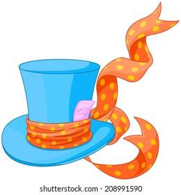Illustration of Top hat of Mad Hatter