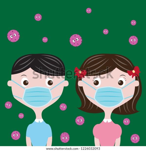 mask kids virus