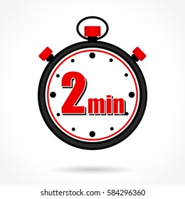 Clock 2 Minutes Images, Stock Photos & Vectors | Shutterstock