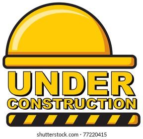 illustration of under construction