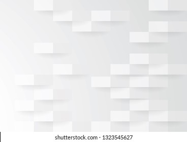 Illustration Vector: Abstract White Background