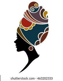 African Woman Silhouette Images Stock Photos Amp Vectors
