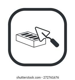 illustration of vector building modern icon in design
