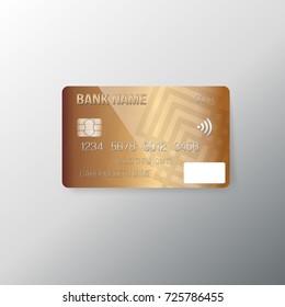 Illustration of Vector Credit Card