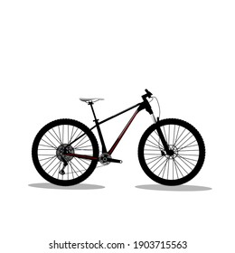 Illustration vector grafice of cycle