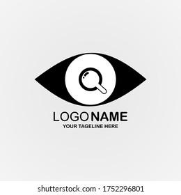 Illustration vector graphic of creative logo design. Research concept. Perfect for Logo Brand, Company Logo, Logo Design, Icon, Sign, Web, etc.
