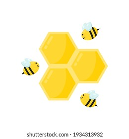 Illustration vector graphic of honey comb, perfect for, honey product, website, banner, flyer, etc