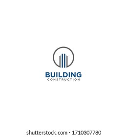 illustration vector graphic of logo real estate, house, home, building, construction perfect for your business company