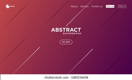 Illustration vector graphic of modern abstract minimalist geometric background. Very useable for landing page, website, banner, poster, event, etc.