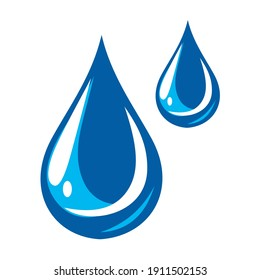 illustration vector graphic of water drop