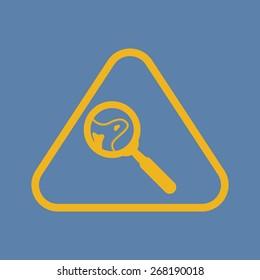 illustration of vector medical modern icon in design