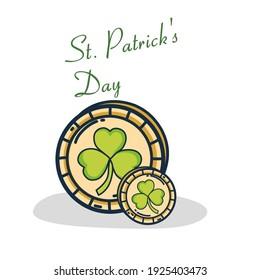 Illustration vector St. Patrick's Day cards design