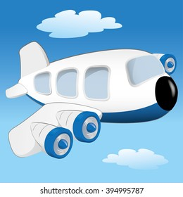 Cartoon Airplane Images Stock Photos Vectors Shutterstock