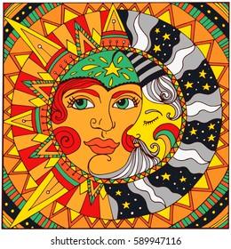 Viso Stilizzato Donna Stock Illustrations Images Vectors