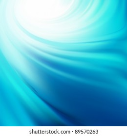 Illustration of water swirling. EPS 8 vector file included