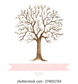 Baum Hochzeit Stock Vectors Images Vector Art Shutterstock