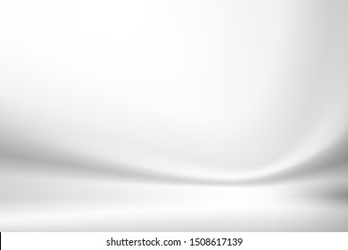 illustration white Background, abstract element smooth vector white Background.