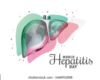 Illustration of World Hepatitis Day.