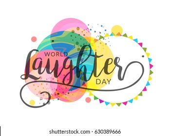 Laughter images stock photos vectors shutterstock illustration of world laughter day m4hsunfo