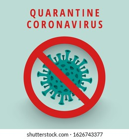 Illustrations concept coronavirus COVID-19. virus wuhan from china. Vector illustrate.