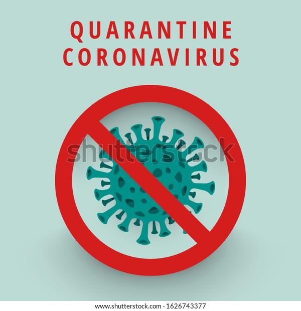 Illustrations concept coronavirus COVID-19. virus wuhan from china. Vector illustrate.