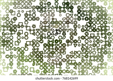 Illustrations of line or shape. Good for web page, wallpaper, graphic design, catalog, texture or background. Vector isolated on white.
