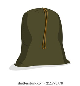 Illustrations of military bag