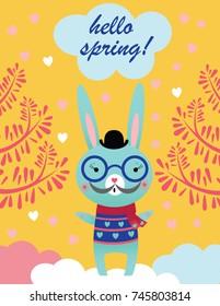 Illustrations of a Rabbit