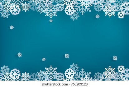 illustrations of winter and christmas backgrounds. design paper art
