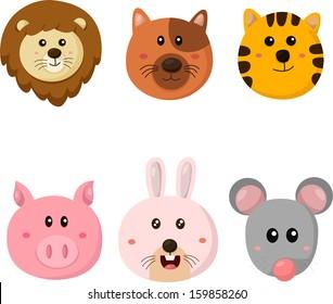 Illustrator of animal faces