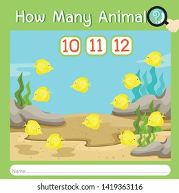 Illustrator of How many animal eight
