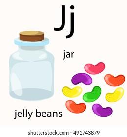 Illustrator of j vocabulary